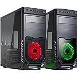 Promo Black Pc Desktop Gaming Intel I5 7400 Up 3.5 Ghz - Ram 16Gb Ddr4 - Ssd 240Gb - Hd 1 Tb - Dvd - Gtx 1050 2Gb Gddr5 - Wifi - Usb 3.0 - Licenza Windows 10 Pro