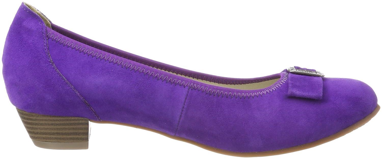 Hirschkogel 3004550, Chaussures Avec Fermé Pour Les Femmes, Pointe Pourpre (lila 060), 35 Eu