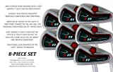 "Big Tall Extra Custom Made Long XL Taylor Fit Irons Golf Clubs Power Back T11 +1"" Iron Set: 4, 5, 6, 7, 8, 9, Pw + Free Sw"