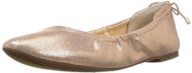 Jessica Simpson Women's Nalan Ballet Flat, Black, 5.5 M US