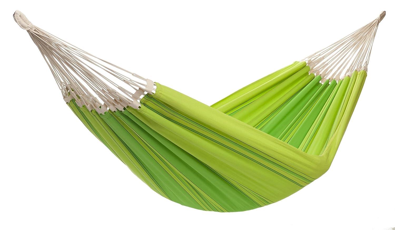 Tuchhängematte XL, reine Baumwolle, 240 x 170 cm, 250 kg Tragfähigkeit, in 5 Farben, grün
