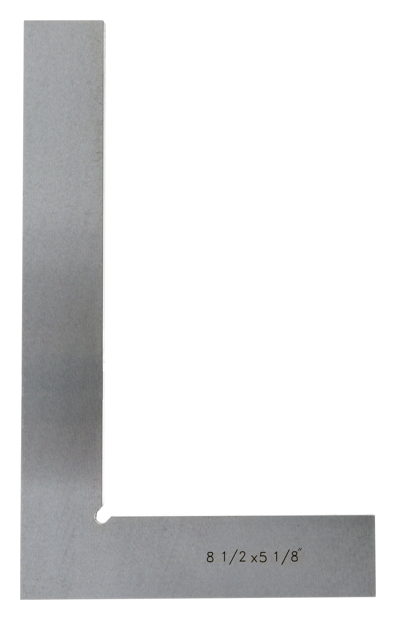 Grizzly H2695 Straight Edge Super Precise Flat Stee Length Squares, 5-1/8-Inch by 8-1/2-Inch
