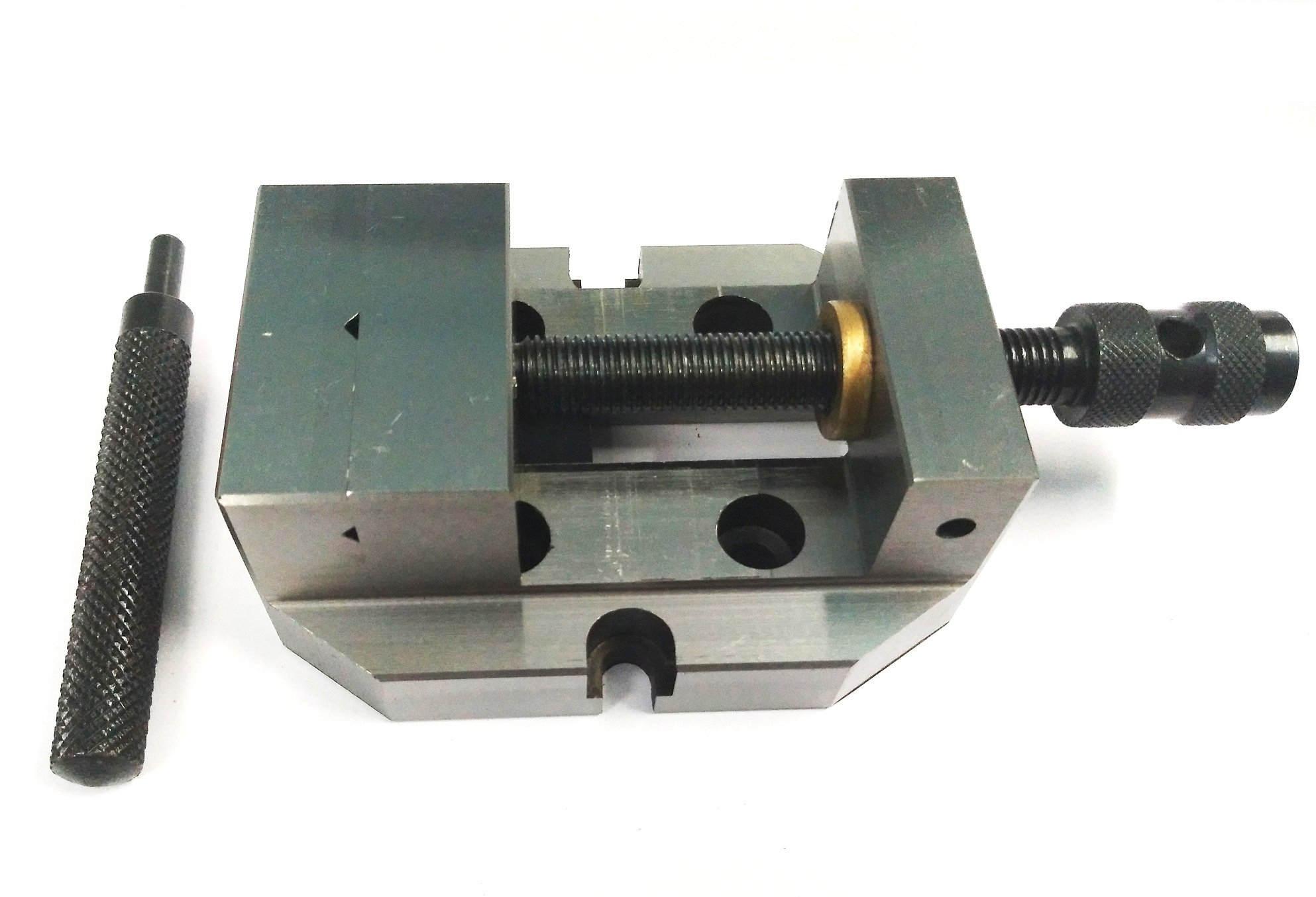 2-3/8'' Inches (60 mm) Jaw Width Grinding Steel Vice -Hardened & Ground Finish by Global Tools