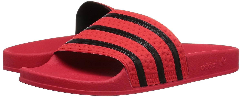 new product f2f68 f372c adidas Originals Adilette Sandalia para Real Coral S hombre Real Core Black  Coral S, Core Black, Real Coral S