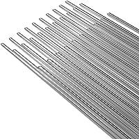 KKmoon 50PCS Low Temperature Aluminum Welding Wire Flux Cored 2mm*500mm Al Soldering Rod No Need Solder Powder
