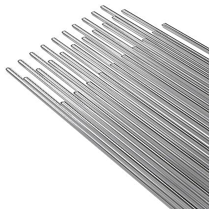KKmoon 50PCS Alambre de soldadura de aluminio de baja temperatura con núcleo de flujo 2mm *