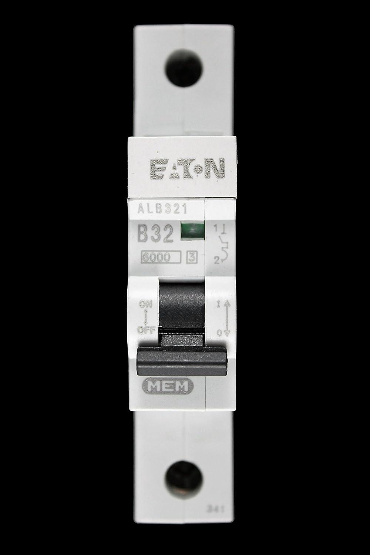 Eaton 6ka AD MCB/'s Type B Memshield 2 MEM Memera 2000 ALB