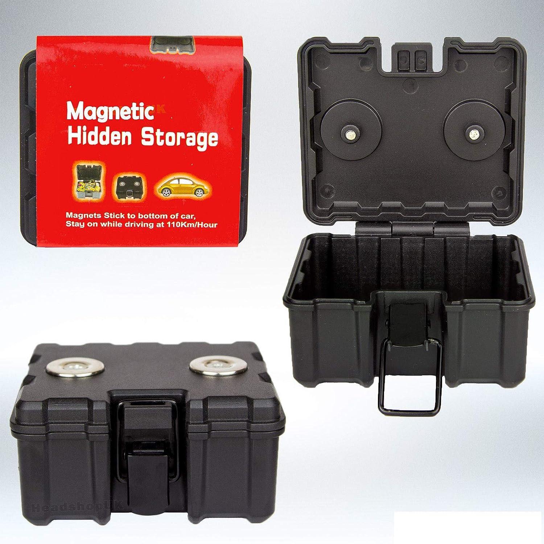 Caja de Almacenamiento Oculta magnética Mediana para Coche ...