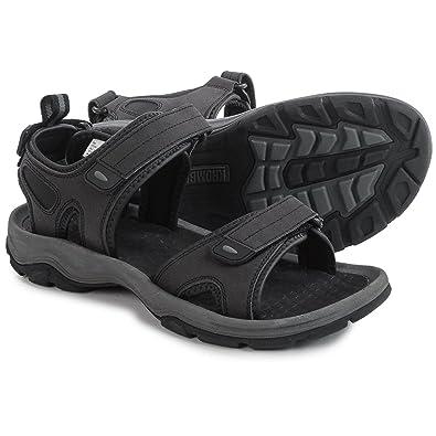 3c3e030d7dab Khombu Mens Barracuda Sport Sandals Black Size 11 M US