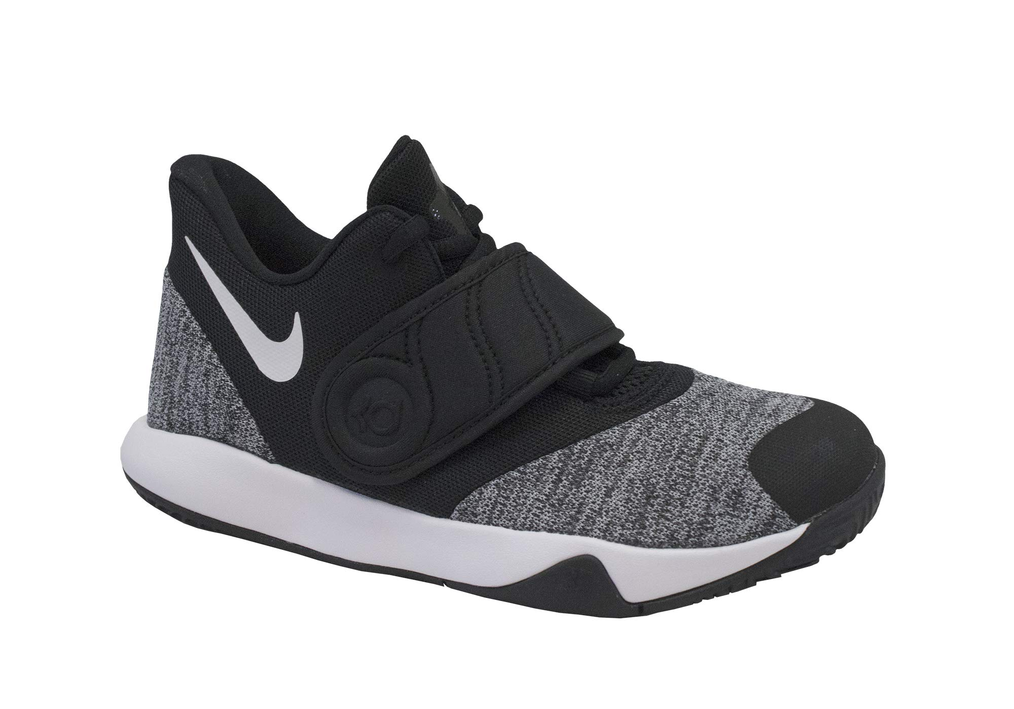 baf4f5d192a5 Galleon - Nike Boy s KD Trey 5 VI (PS) Basketball Shoe Black White Size 12 Kids  US