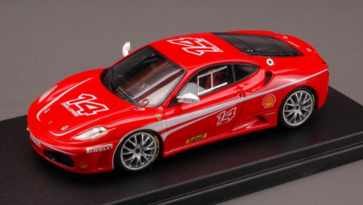 LOOK&SMART LS153 Ferrari F 430 Challenge 1:43 MODELLINO DIE CAST Model