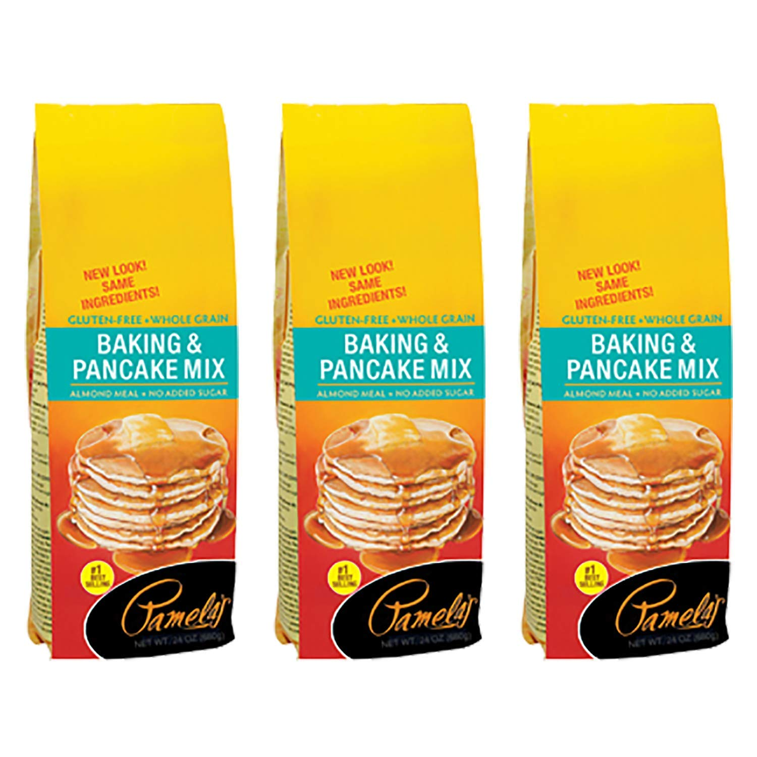 Pamela's Products Gluten and Wheat Free Baking and Pancake Mix - 24 oz- (Pack - 3) by Pamela's Products