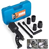 Mophorn 1:78 Torque Multiplier Wrench 7800 NM Lug Nut Wrench Set Lugnut Remover with Case Labor Saving Wrench Tool Heavy…