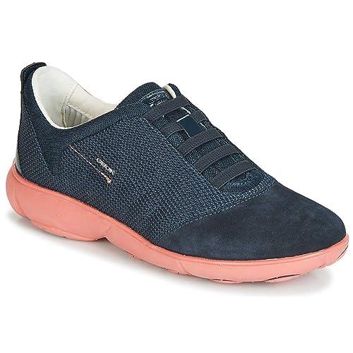 Geox nebula bleu baskets mode homme basses chaussures [Geox