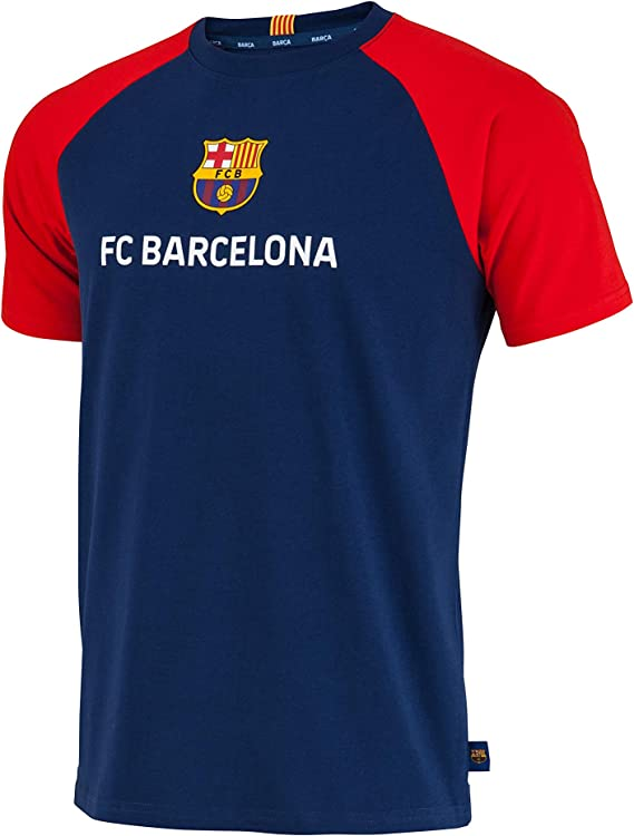 Fc Barcelone Camiseta de algodón Barca - Lionel Messi - Colección Oficial Talla de Hombre: Amazon.es: Deportes y aire libre
