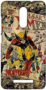 جراب هاتف Macmerise Comic Wolverine Sublime لهاتف Xiaomi Redmi Note 3