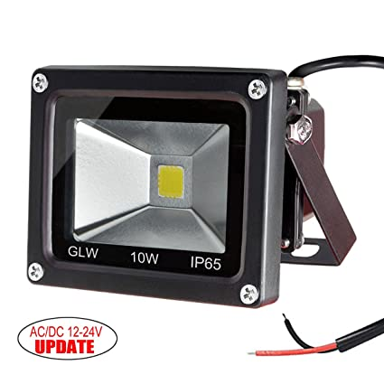 Amazon glw 10w 12v ac or dc warm white led flood light glw 10w 12v ac or dc warm white led flood light waterproof outdoor lights 750lm 80w workwithnaturefo