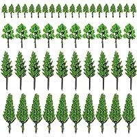 Boerni 50 PCS árboles de Modelo Mixto, árboles