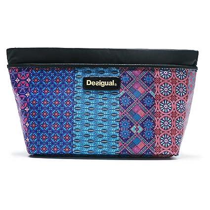 Desigual - Bolsa de aseo Azul azul Talla única: Amazon.es ...