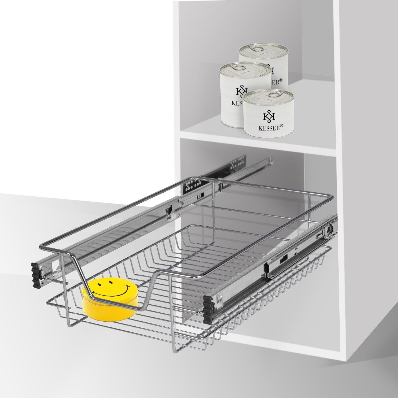 Kesser® Teleskopschublade ✓ Küchenschublade ✓ Küchenschrank ...