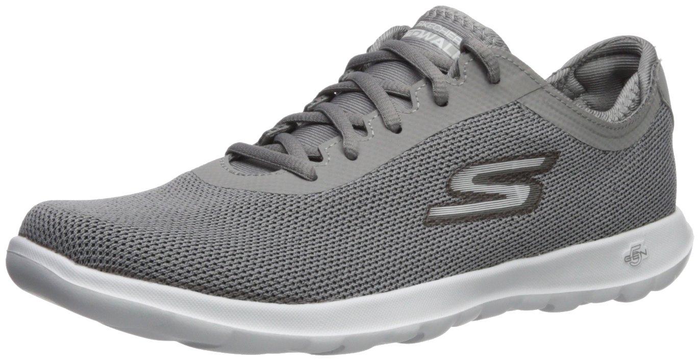 Skechers Women's Go Walk Lite-15360 Sneaker B072N8TRRW 7 B(M) US|Gray