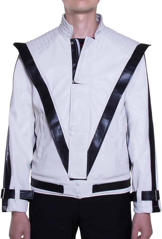 mjb2 C-michael disfraz de Jackson Thriller con una chaqueta de ...