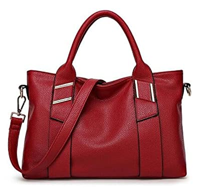 4407d59996 Toping Fine Occident Ladies Genuine Leather bag Women Messenger bags  Handbags Women Famous Brands Large Capacity