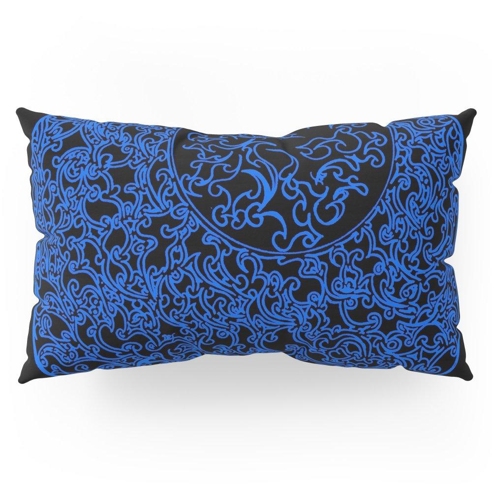 Society6 Solar Blue (1) Pillow Sham King (20'' x 36'') Set of 2