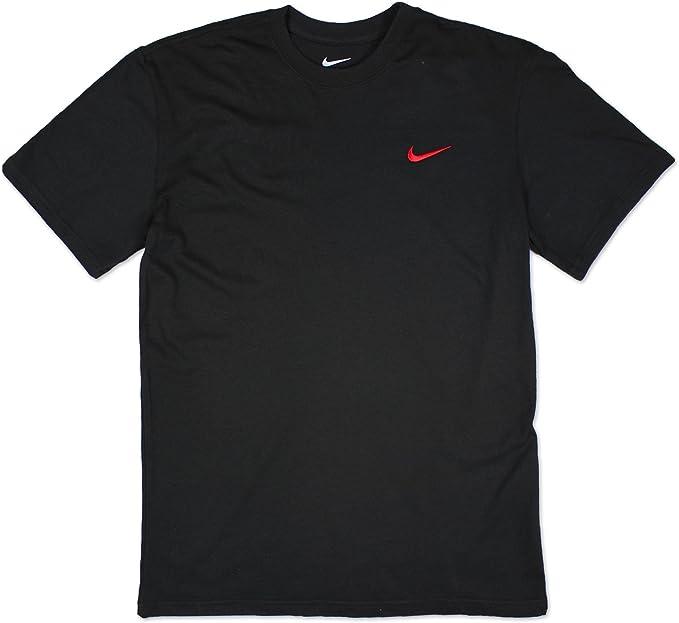 NUEVO Nike Hombre Cuello redondo Sencillo Marca Diseñador Fitness ...