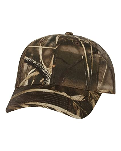 7635afc17ace6 Image Unavailable. Image not available for. Color: Outdoor Cap Classic  Twill Realtree Max-4 Camo Hat