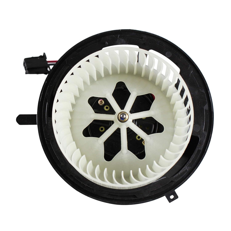 MYSMOT Blower Motor Fan Assembly without regulater for BMW E90 F25 F26 E89 64119227670 64119144200 64116933663 8EW351104791