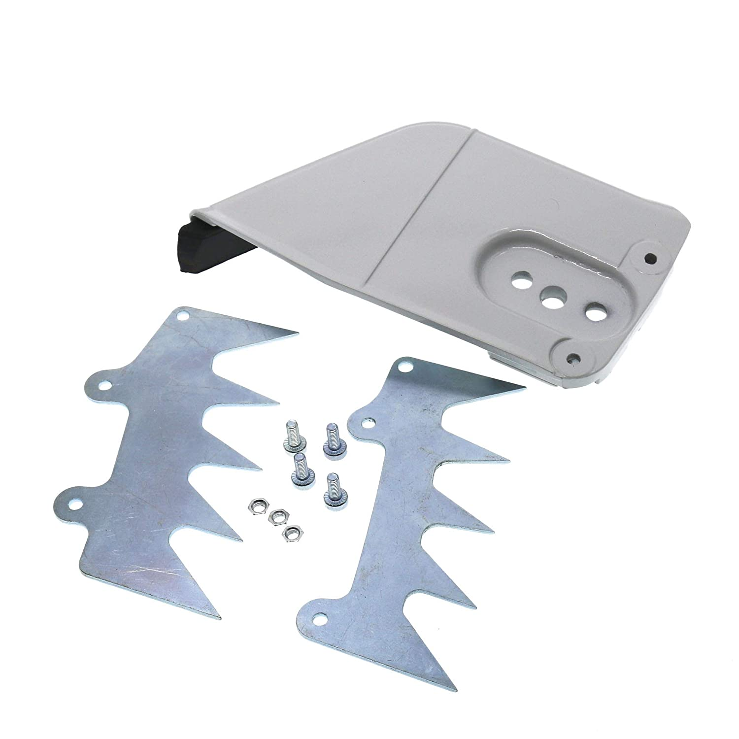 for Stihl MS440 MS460 MS650 MS660 046 064 066 Chainsaw QHALEN Bar Sprocket Clutch Cover Bumper Spike Inner//Outer