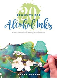 Alcohol Ink Art Projects