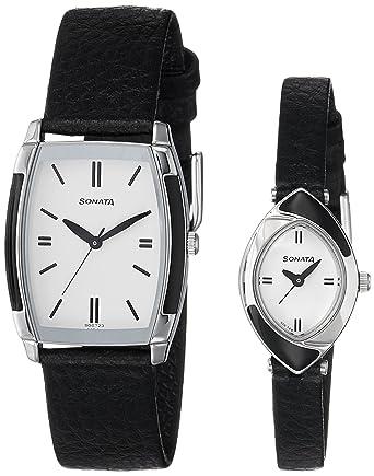 Analog White Dial Unisex Watch-NK70808069SL01