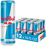 Red Bull Sugarfree, Energy Drink, 16 Fl Oz Cans, 12 Pack