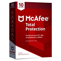 McAfee Total Protection 10 Dispositivos 2018