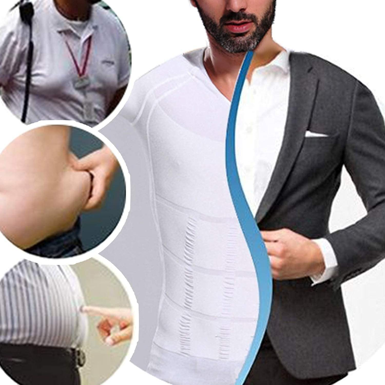 i-select Shapewear T-Shirt de Compression Taille