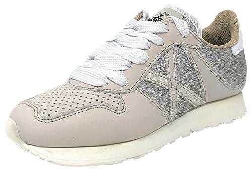 Munich Massana 62 - Zapatillas Bajas Mujer Beige Talla 38: Amazon.es: Zapatos y complementos