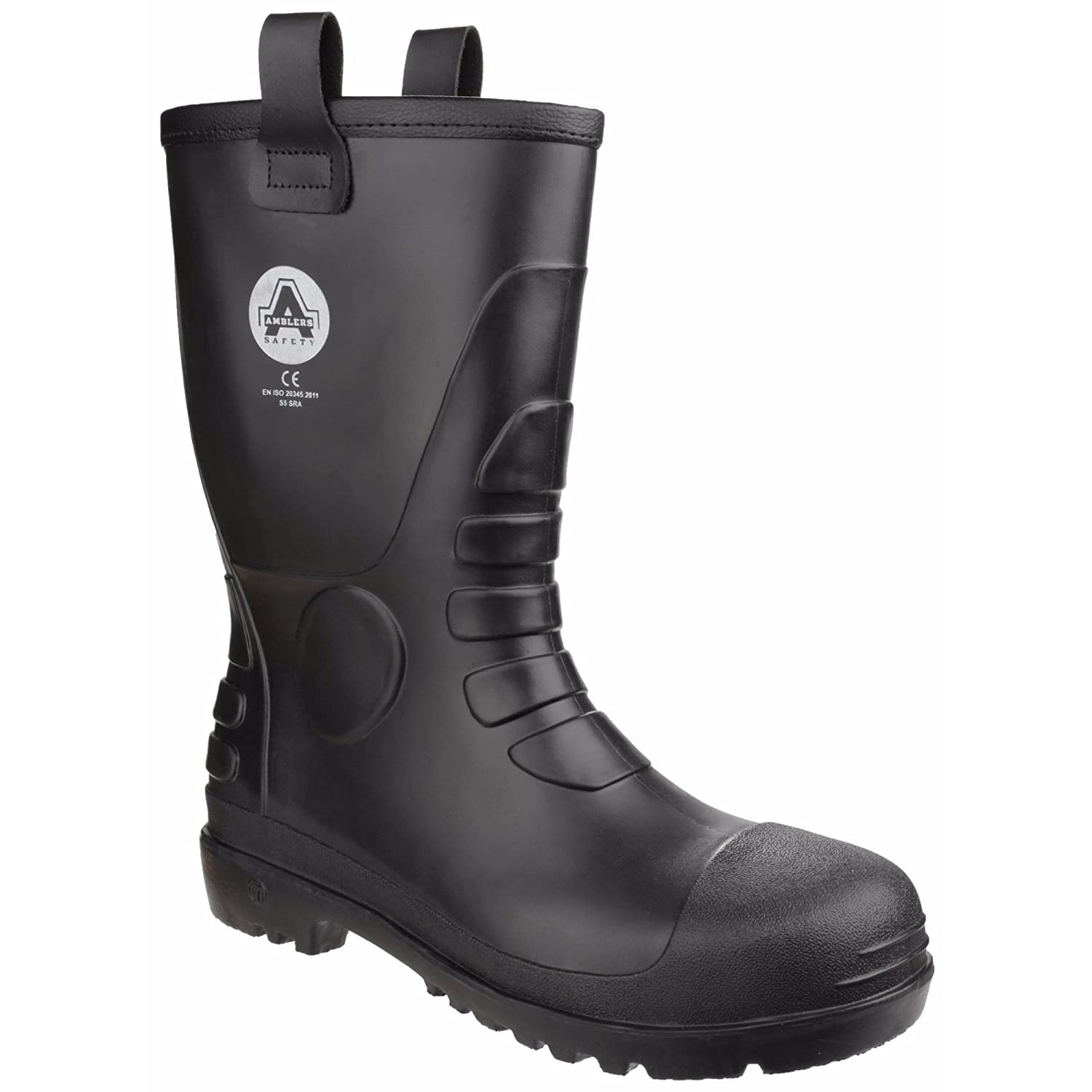 Amblers Safety Unisex FS90 Waterproof Pull On Safety Rigger Boot B06ZZKDQQC