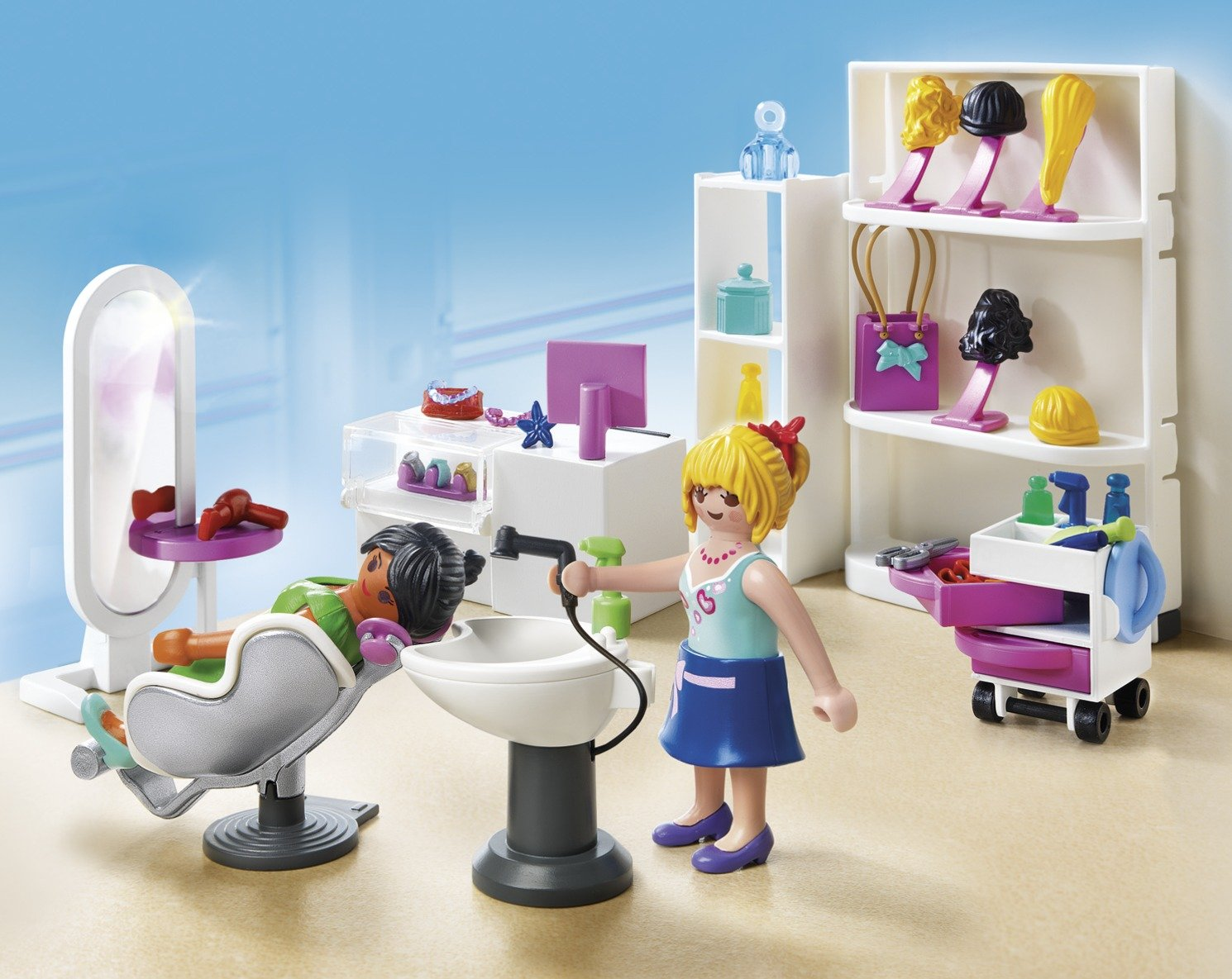 Playmobil   5487   figurine   salon de beauté: amazon.fr: jeux et ...