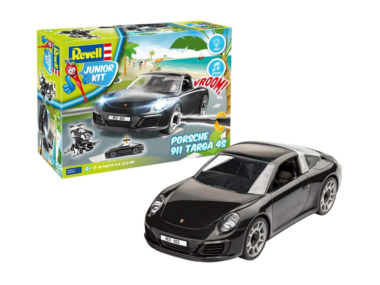Revell 00822 porsche 911 targa 4s multi colour länge ca 238 cm amazon co uk toys games