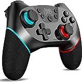 Control Inalámbrico para Nintendo Switch Pro, Fotgear Joystick Remoto Bluetooth para Consola Nintendo Switch, Gamepad con Tur