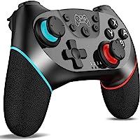 Control Inalámbrico para Nintendo Switch Pro, Fotgear Joystick Remoto Bluetooth para Consola Nintendo Switch, Gamepad…