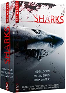 coffret mega shark fr import dvd amazon co uk dvd blu ray coffret red waters megalodon bu shark dark waters