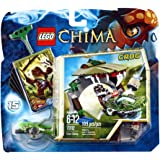 LEGO Legends of Chima - Speedorz - 70112 - Jeu de Construction - La Morsure Croco