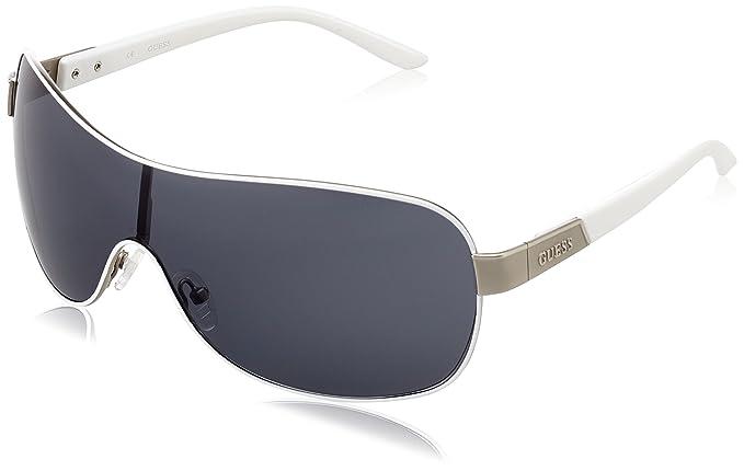Guess Guf112, Gafas de Sol para Hombre, Blanco, 52