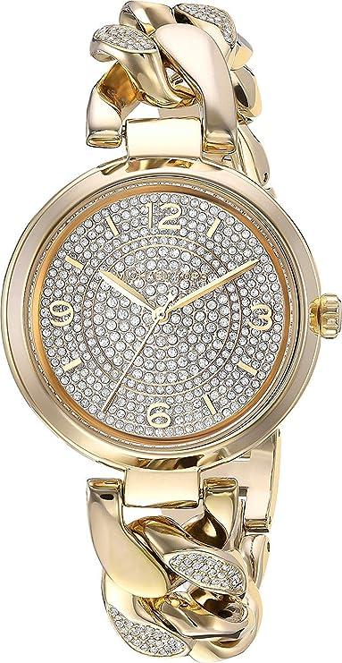 Amazon.com: Michael Kors Womens MK3634 - Bradshaw Gold Tone One Size: Watches