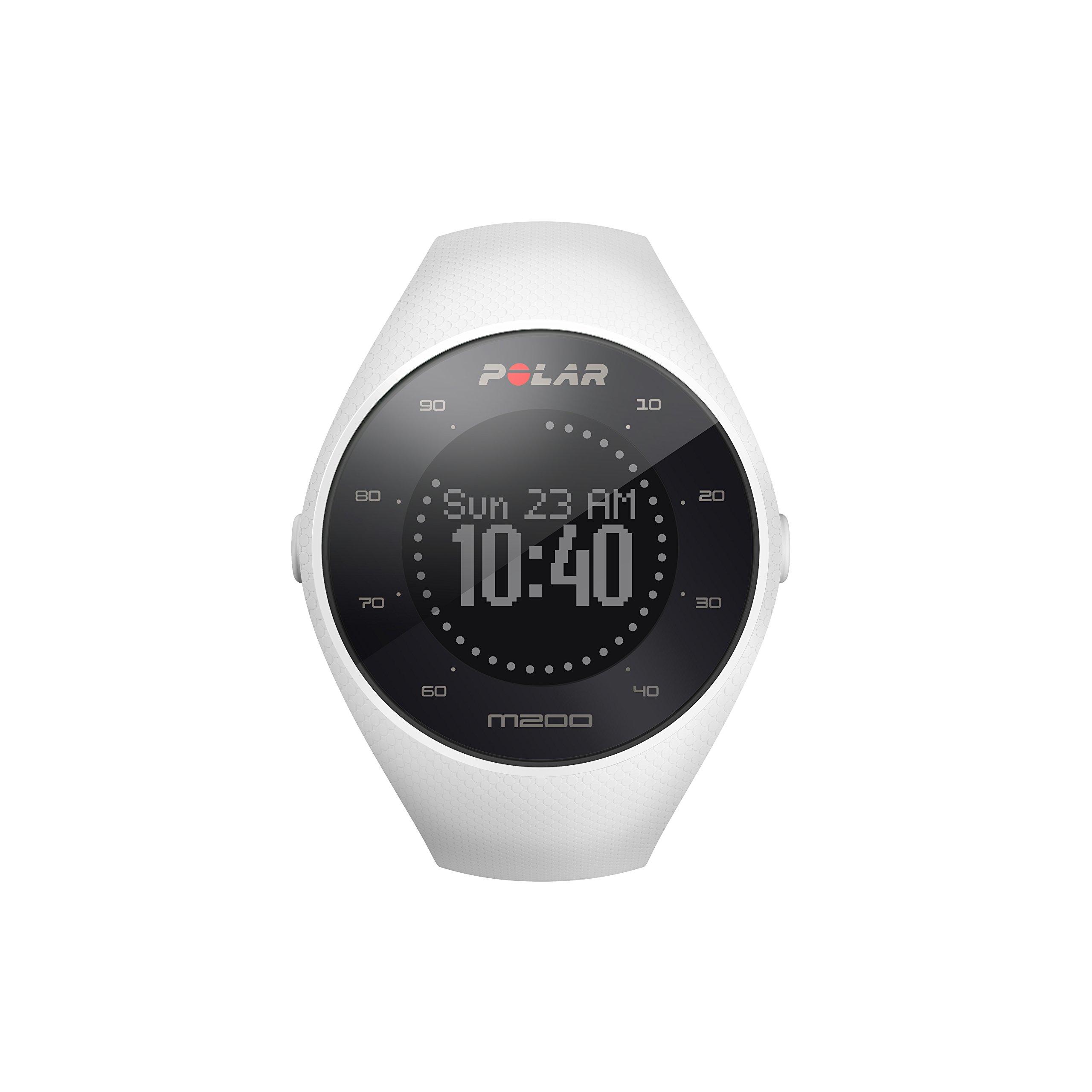 POLAR M200 GPS Running Watch White by Polar