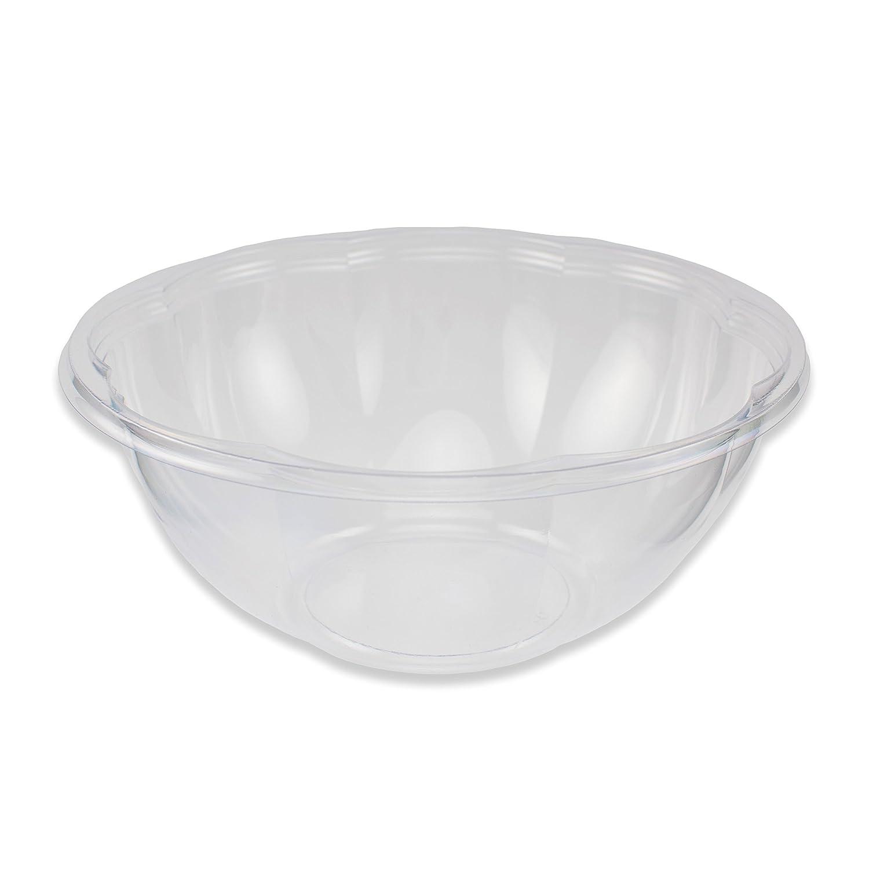 Jaya 100% Compostable Clear PLA Salad Bowl, 48-ounce, 300-count case Stalkmarket COMINHKPR69568