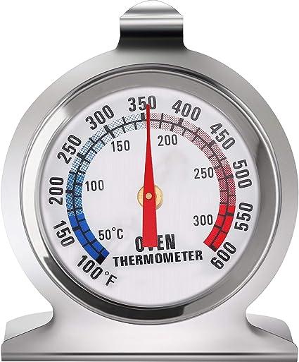 Termometro Da Forno Termometro In Acciaio Serie Classica Termometro Per Monitoraggio Fumatore Griglia Forno Per Cucina Cottura 1 Amazon It Commercio Industria E Scienza